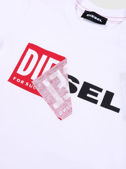 Diesel - TOQUEB MC, White - T-shirts and Tops - Image 3