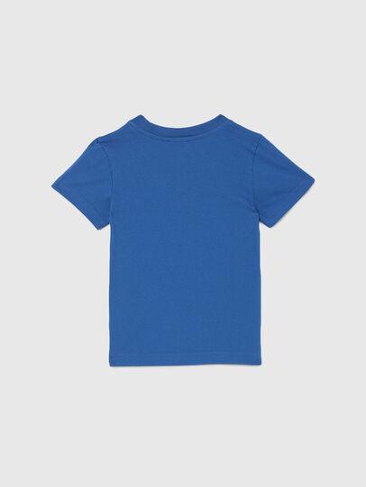 Diesel - TJUSTLOGOB-R, Blue - T-shirts and Tops - Image 2