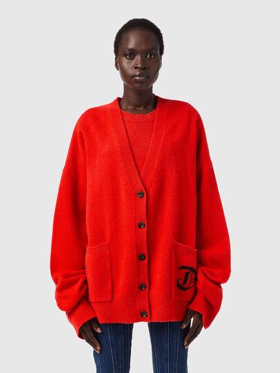Diesel - M-LOUISIANA, Orange - Knitwear - Image 1