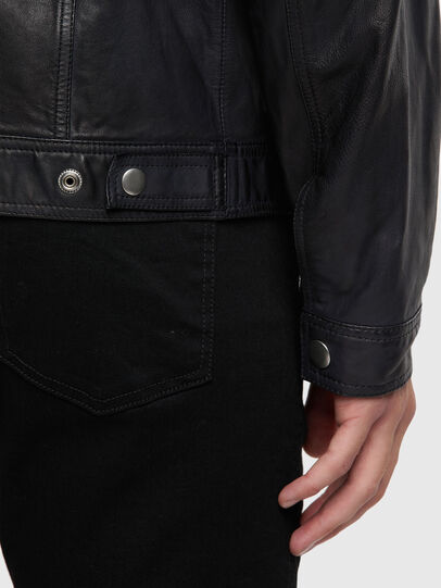 Diesel - L-NHILL-TRE,  - Leather jackets - Image 4