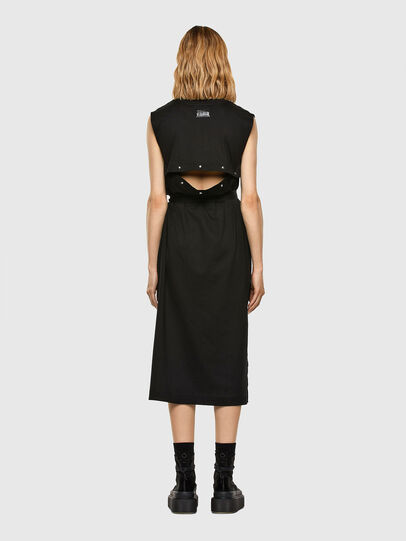 Diesel - D-FAIRY, Black - Dresses - Image 7