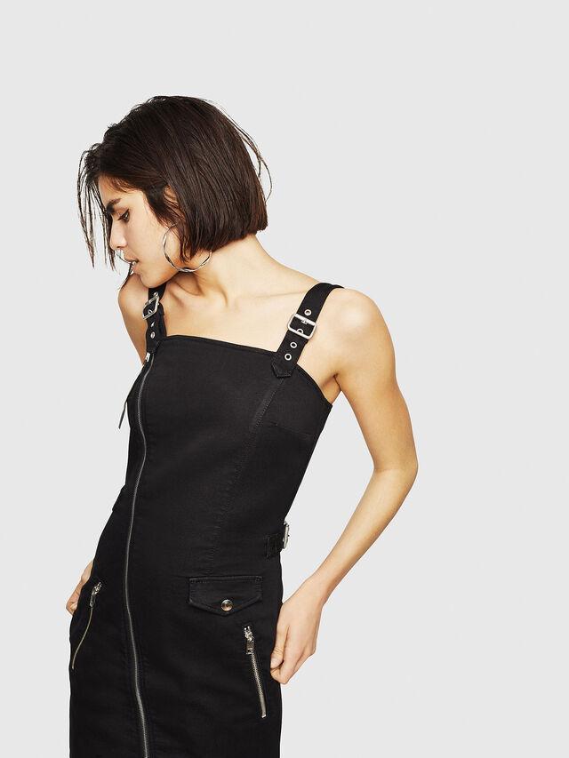 Diesel - D-ARTYN JOGGJEANS, Black - Dresses - Image 4