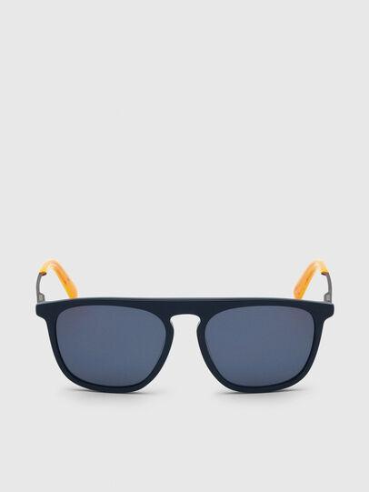 Diesel - DL0297, Blue/Yellow - Sunglasses - Image 1