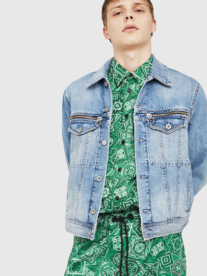 Diesel - D-ROY,  - Denim Jackets - Image 1
