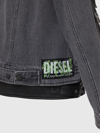 Diesel - L-IVAN,  - Leather jackets - Image 6