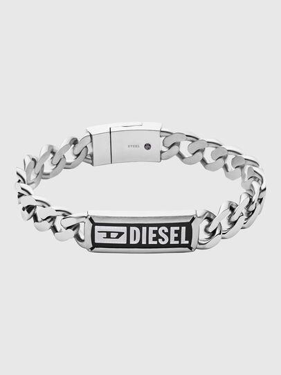 Diesel - DX1243, Silver - Bracelets - Image 1