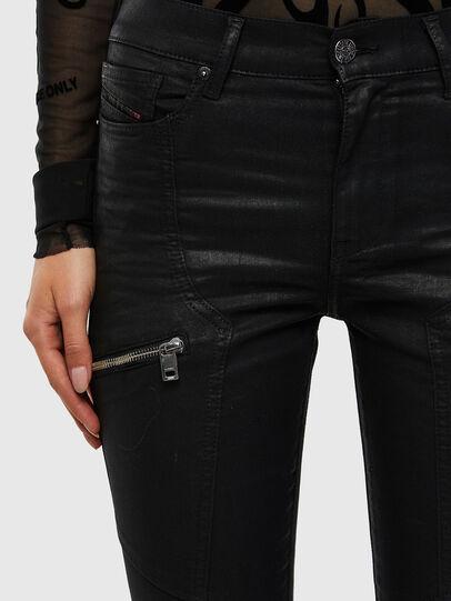 Diesel - D-Ollies JoggJeans® 069RK, Black/Dark grey - Jeans - Image 3