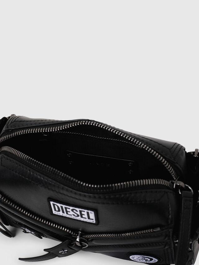 Diesel - LE-ZIPPER CROSSBODY, Black - Crossbody Bags - Image 4