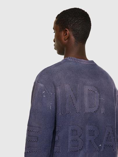Diesel - K-NORTHERN, Blue - Knitwear - Image 3