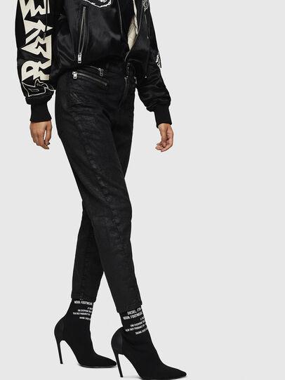 Diesel - D-Eifault JoggJeans 084AG, Black/Dark grey - Jeans - Image 3