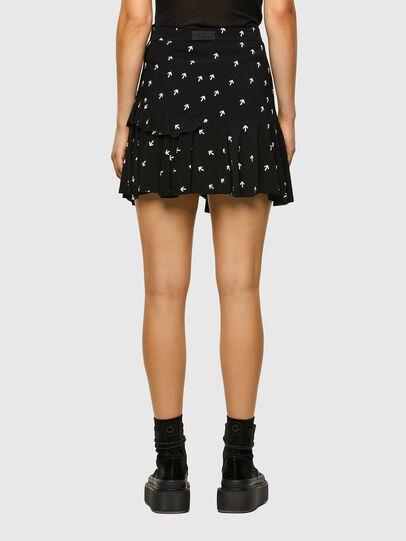 Diesel - O-KOEPY-A, Black - Skirts - Image 2