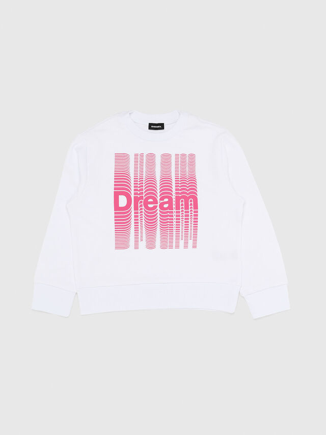 Diesel - SBAYX OVER, White/Pink - Sweaters - Image 1