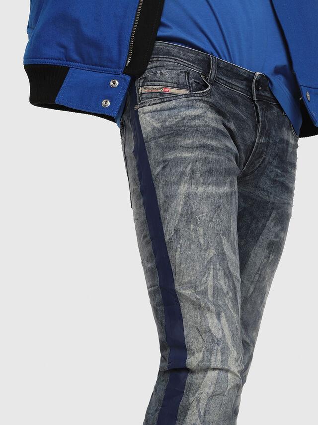 Diesel - Sleenker 069DH, Medium blue - Jeans - Image 3