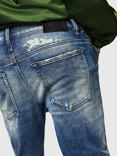Diesel - D-Reeft JoggJeans 0870Q, Medium blue - Jeans - Image 5