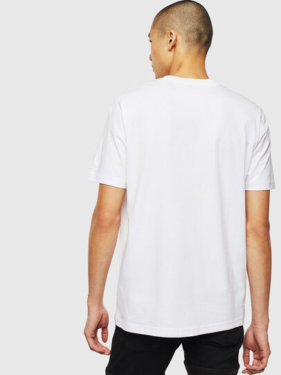 Diesel - T-JUST-J14, White - T-Shirts - Image 2