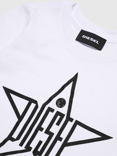 Diesel - TDIEGOYHB-ML, White - T-shirts and Tops - Image 3