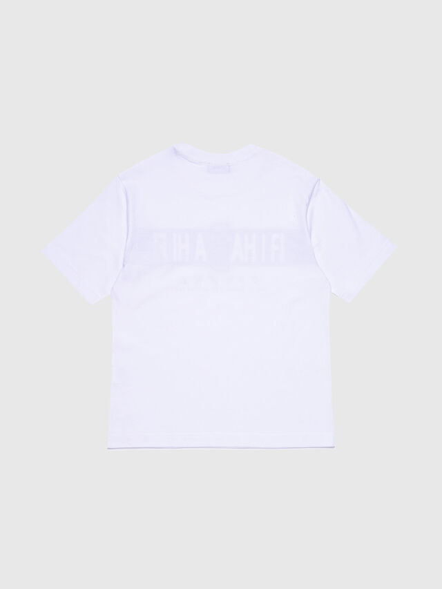 Diesel - TJUSTYZ OVER, White - T-shirts and Tops - Image 2