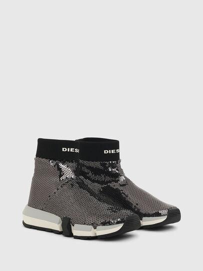 Diesel - H-PADOLA SOCK W, Black - Sneakers - Image 2