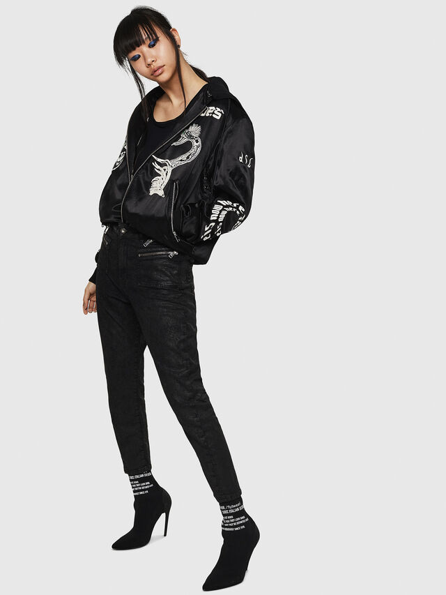 Diesel - D-Eifault JoggJeans 084AG, Black/Dark grey - Jeans - Image 7