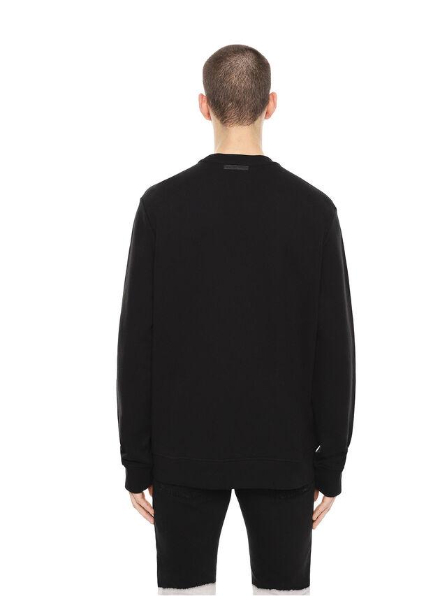Diesel - SNEILB-DRIPPINGSOLDI, Black - Sweaters - Image 2