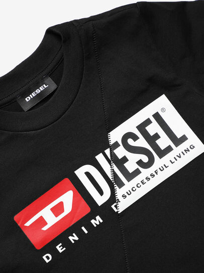 Diesel - TDIEGOCUTYB-R, Black - T-shirts and Tops - Image 3