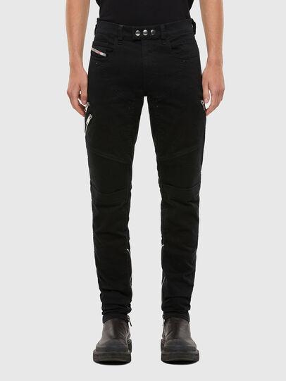 Diesel - D-Dean 069QV, Black/Dark grey - Jeans - Image 1