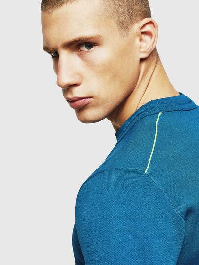 Diesel - K-LUISS, Blue - Knitwear - Image 5