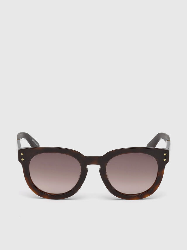 Diesel - DL0230, Brown/Black - Eyewear - Image 1