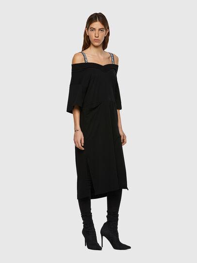 Diesel - D-WORKIE, Black - Dresses - Image 1