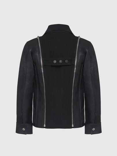 Diesel - L-LAZAY, Black - Leather jackets - Image 2