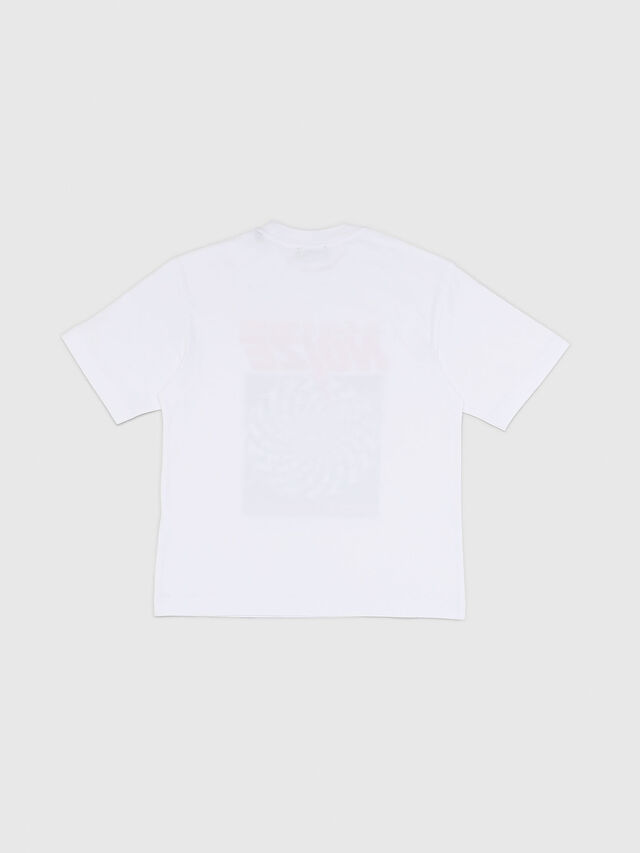 Diesel - TWALLACE OVER, White - T-shirts and Tops - Image 2