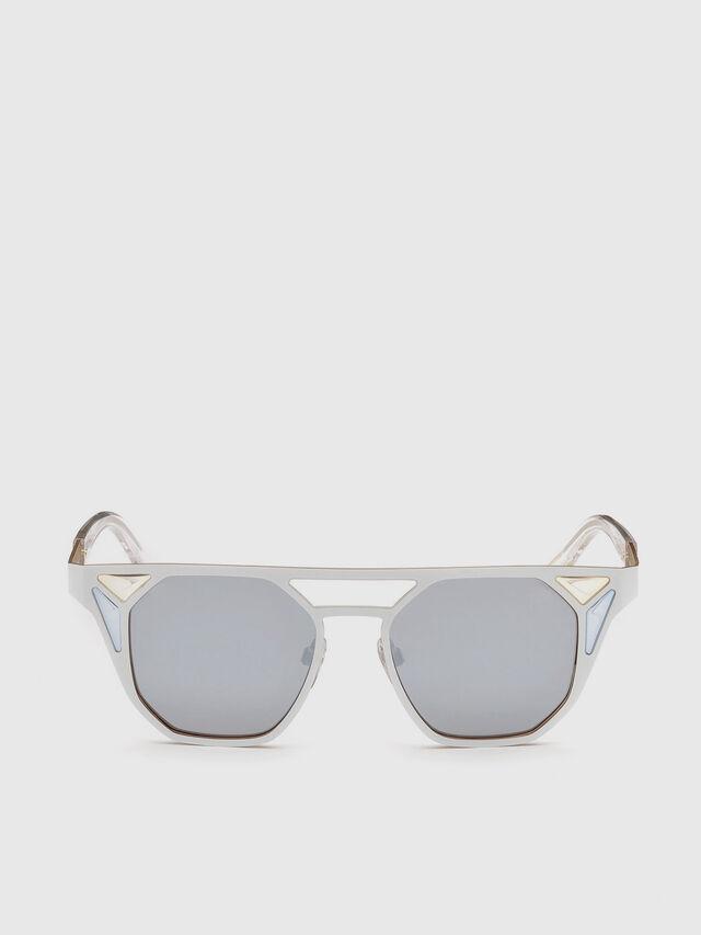 Diesel DL0249, White - Eyewear - Image 1