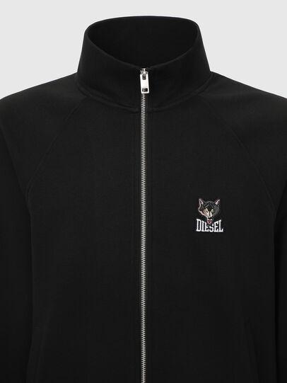 Diesel - UMLT-MAX-CZ, Black - Sweaters - Image 3