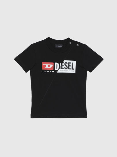 Diesel - TDIEGOCUTYB, Black - T-shirts and Tops - Image 1