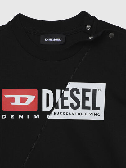 Diesel - TDIEGOCUTYB, Black - T-shirts and Tops - Image 3