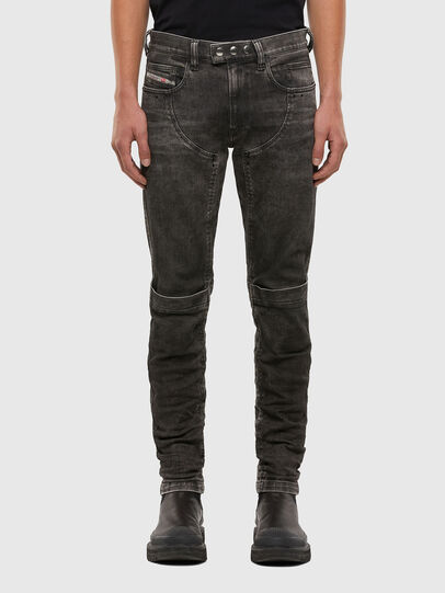 Diesel - D-Dean 009LI, Black/Dark grey - Jeans - Image 1