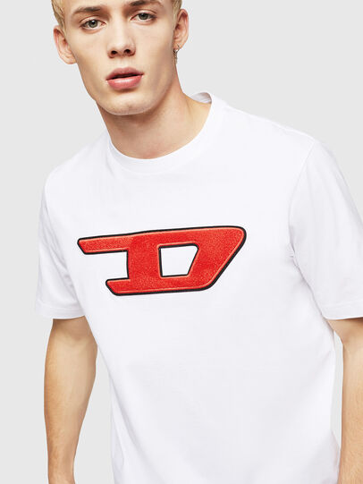 Diesel - T-JUST-DIVISION-D,  - T-Shirts - Image 3