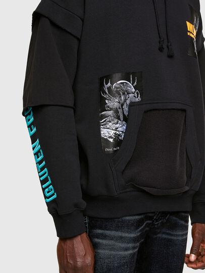 Diesel - S-UBBER, Black - Sweaters - Image 4