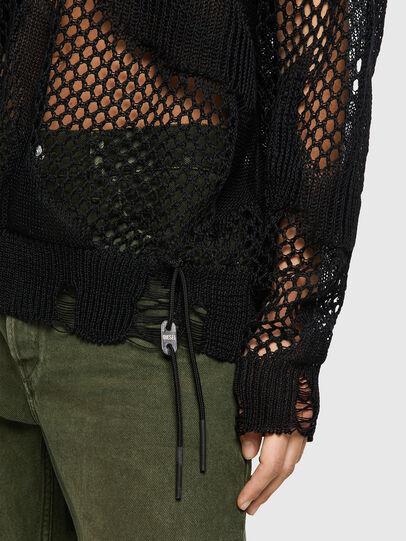 Diesel - M-MISSOURI, Black - Knitwear - Image 4