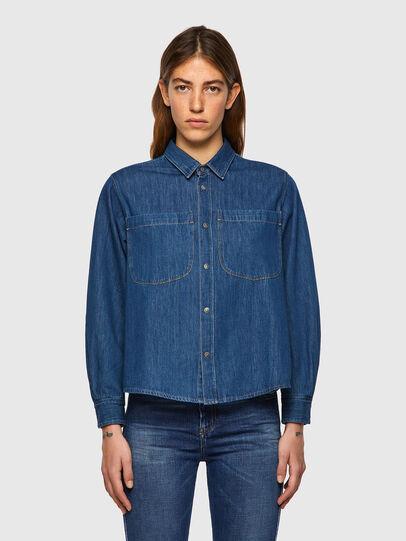 Diesel - DE-BEA-SP, Blue - Denim Shirts - Image 1