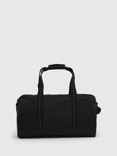 Diesel - D-THISBAG TRAVEL BAG, Black - Travel Bags - Image 2