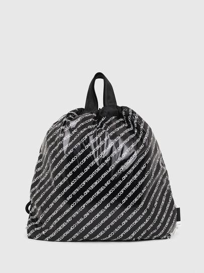 Diesel - COPYBACK, Black/White - Backpacks - Image 2