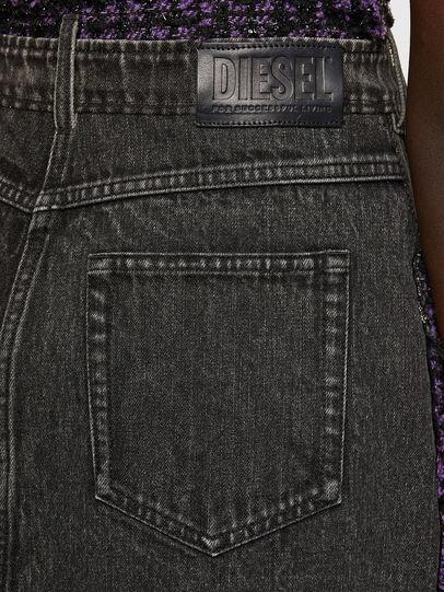Diesel - D-OLGA, Black/Violet - Dresses - Image 5