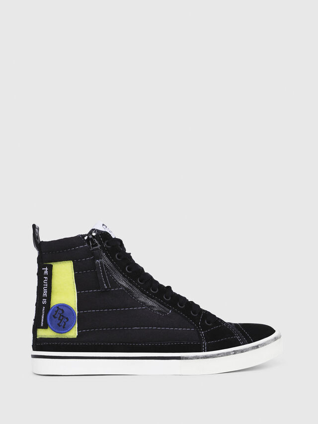 Diesel - D-VELOWS MID PATCH W, Black - Sneakers - Image 1