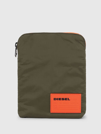 Diesel - F-DISCOVER CROSS, Dark Green - Crossbody Bags - Image 1