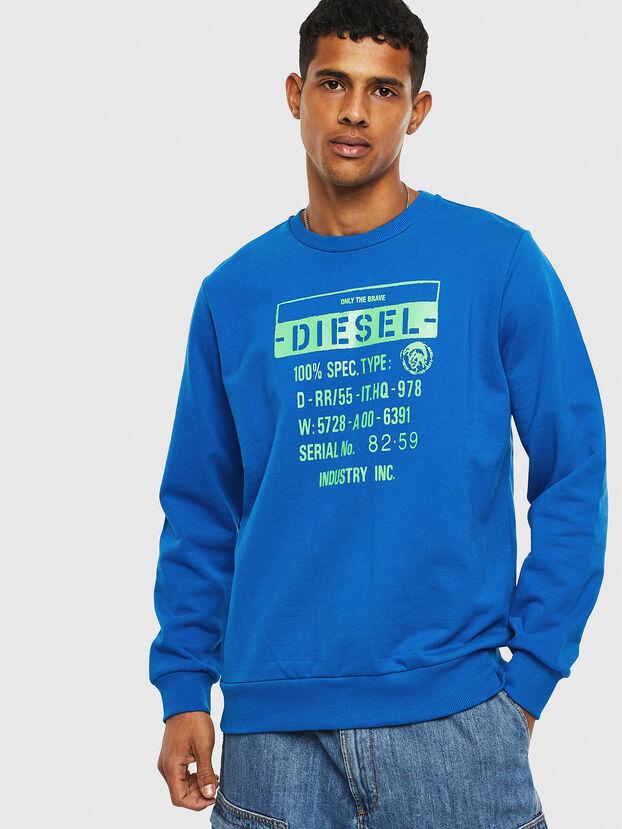S-GIRK-S3, Blue - Sweaters