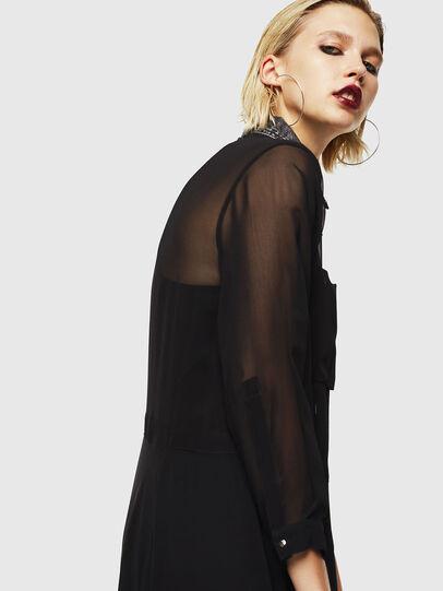 Diesel - D-RAHAN-A, Black - Dresses - Image 6