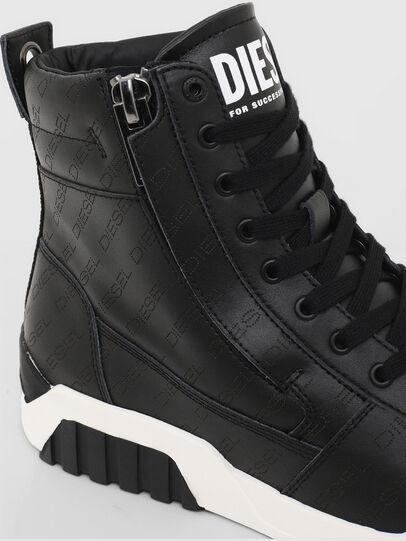 Diesel - S-RUA MID, Black - Sneakers - Image 4