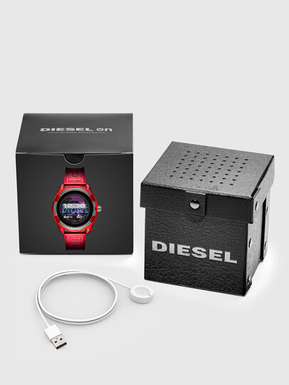 Diesel - DT2019, Red - Smartwatches - Image 5