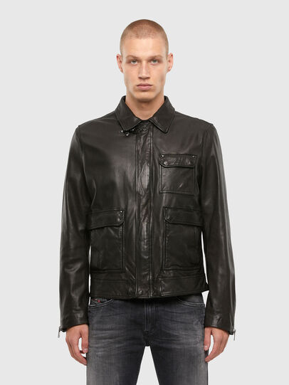 Diesel - L-LUC,  - Leather jackets - Image 1